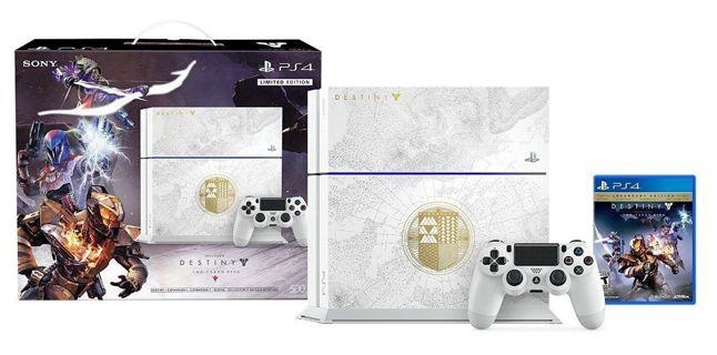 ~Sony PlayStation 4 (Latest Model)- Destiny Bundle 500 GB Glacier Console! Merry Christmas Listing!