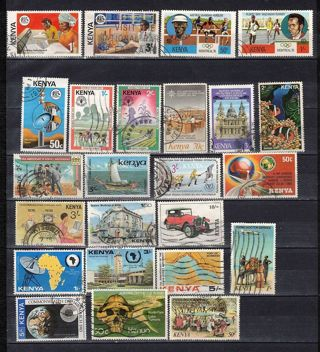 Kenya Stamps Collection