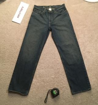Men's Roebuck & Co. Jeans 30 x 32 Blue Jean Pants Roebuck & Co.