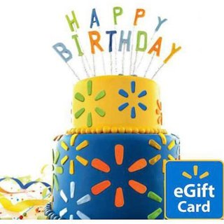 Oh No- Forgot a birthday/special occasion? No worries! Walmart E-Gift Card~~$25 Value~~