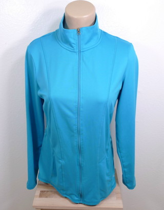 Free  WOMEN CHAMPION DUO DRY ATHLETIC JACKET M GYM FITNESS - Women s ... f03e88bde1