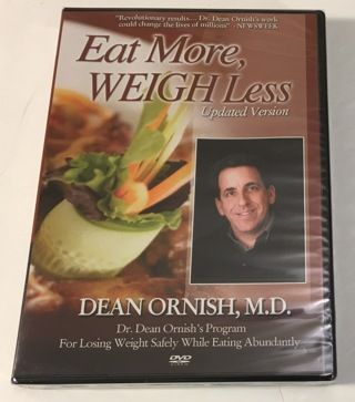 Eat More, Weigh Less (Updated Version) - Dean Ornish M.D. Weight Loss DVD Brand New Factory Sealed!