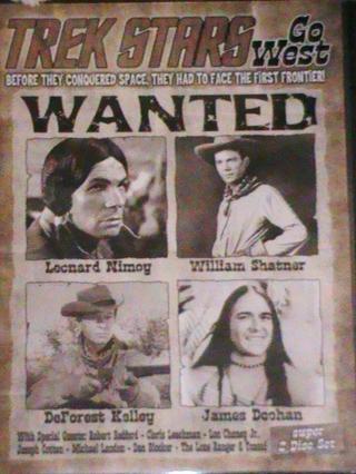 Trek Stars Go West DVD Rare!!!! Hard to get