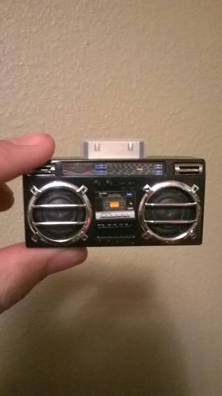 iPhone Juke Box Speaker