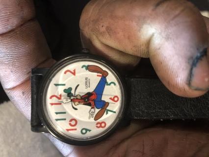 Goofy watch