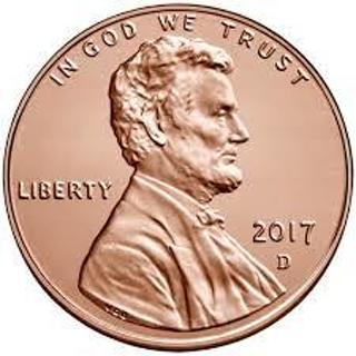 2017 Uncirculated Lincoln Penny!!