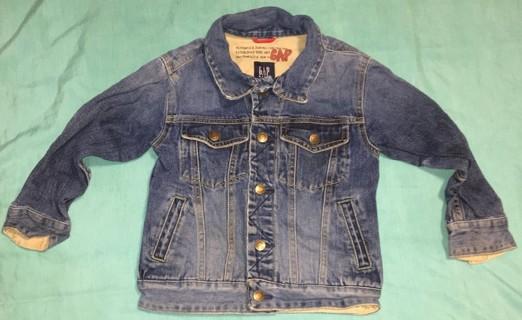 Gap Boys Size XS 4-5 Denim Jacket