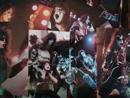 KISS Alive Trading Cards