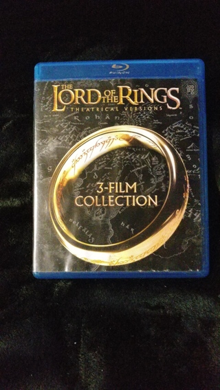 THE LORD OF THE RINGS ~ 3 FILM COLLECTION ON BLU-RAY