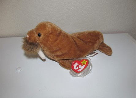 FREE  ♥ Ty Beanie Baby - Paul the Walrus - Collectible Plush Toy Named for  Beatles born 1999 Beanie Babies 7ae73431751