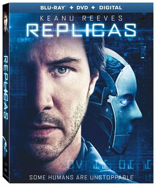 Replicas (Digital HD Download Code Only) **Keanu Reeves** **Thomas Middleditch**