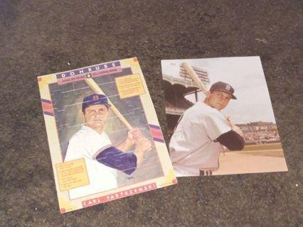 Free 1990 Donruss Baseball Carl Yestrzemski Puzzle Sports