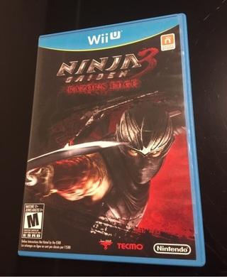 Wii U ~ Ninja Gaiden 3 Video Game