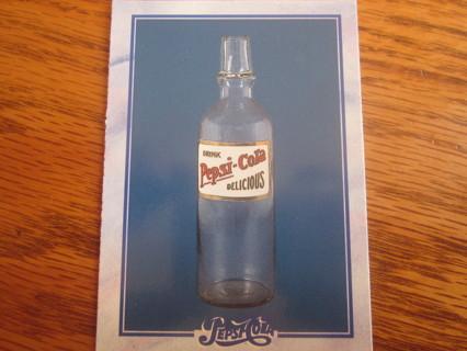 Pepsi cola old bottle card magnet