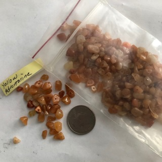 Yellow Adventurine Nugget Beads