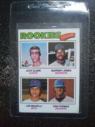MLB '77 Jack Clark (RC) + More Giants