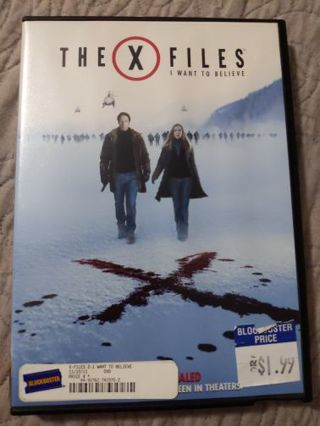 DVD The X Files: I Want to Believe