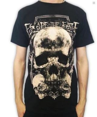 MEN'S Escape The Fate shirt Band Music tee shirt SIZE XSMALL FREE SHIPPING