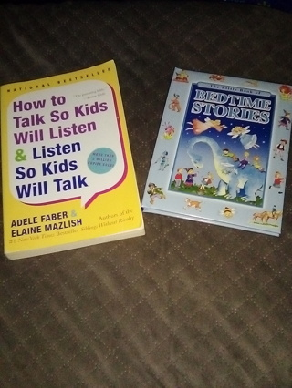 2 Books for Parents 1) Bedtime Stories 2) How to Talk So Kids Will Listen & Listen So Kids Will Talk