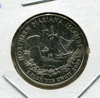 2009 D Northern Mariana Islands Quarter-B.U.