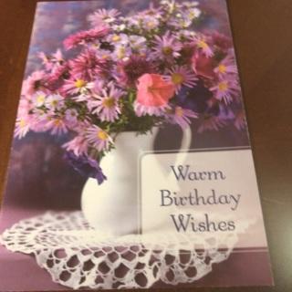 Birthday Wishes Card .