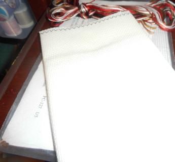 Aida Cloth 17 1/2 x 14 with Pattern