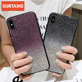 Creative gradient glitter mobile phone case for iPhone X XR XS MAX for iPhone 6 6S 7 8 PLUS