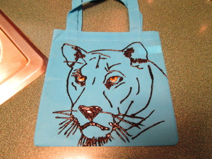 Hand Painted Sm. Tote bag