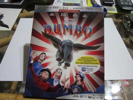 DISNEY'S DUMBO BY TIM BURTON :) BLU-RAY