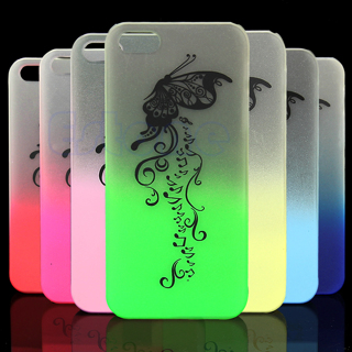 Bumper Frame Glow in The Dark Case Cover for iPhone 5 5S