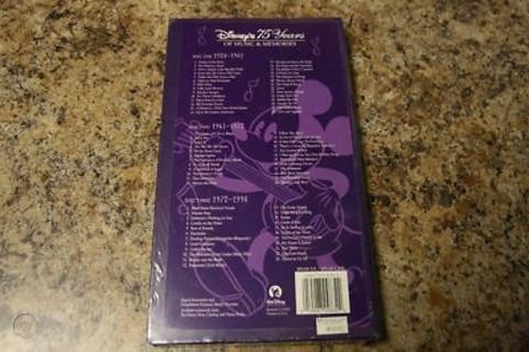 Disney's 75 Years of Music Magic & Memories 3 Disc Set