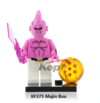 Dragon Ball Z Majin Buu Building Blocks Kids Toys Collection