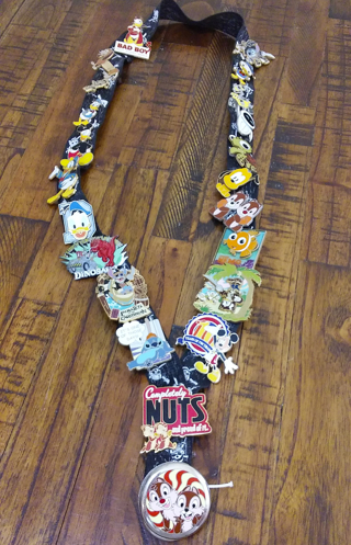 22 Disney Pins w/Lanyad