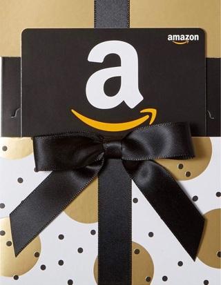 Amazon gift card ($1-$25)