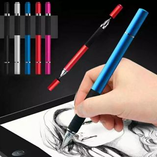 2 in 1 Stylus Ballpen Metal Capacitive Ballpoint Touch Pen for Touches Screen iPhone iPad Tablet
