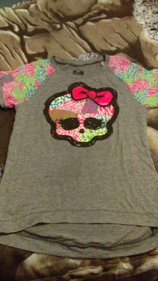 Monster high T-Shirt. Girl's size 14/16