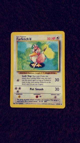 Pokemon. (Farfetch'd) 50hp