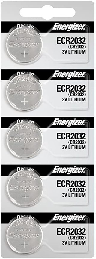 NIP Energizer ECR2032 lithium battery 5 Pack