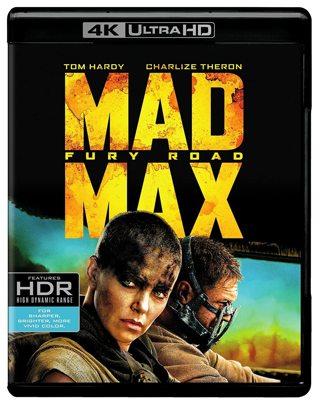Mad Max: Fury Road 4K Digital Movie Code