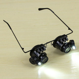 20X Magnification Glasses Type Magnifier Watch Repair