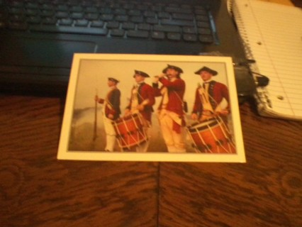 Colonial Greeting Card Never Used in Perfect Condition