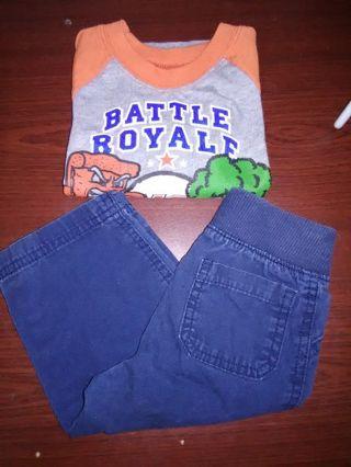 NEW Baby Boys Shirt & Pants