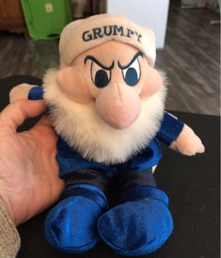 "Disney Grumpy Plush Toy 10"""