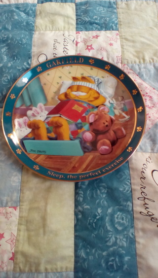 A Day with Garfield collectors plate
