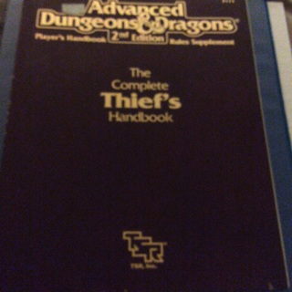 Advanced dungeons and dragons second edition players handbook Rules supplement