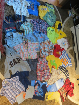 ef20cabff05 FREE  Huge Lot Baby Toddler Boys 3T Spring Summer Clothes Shirts Pants