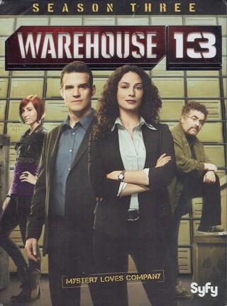 Warehouse 13 Season Three DVD *NEW*