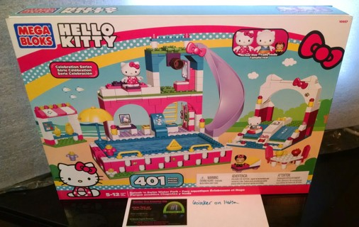 Hello Kitty Toy Car For Girls : Free hello kitty splash n swim mega bloks lego set new