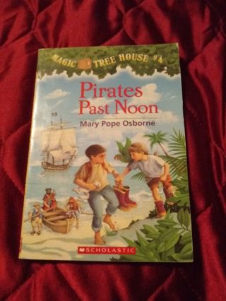 Used Magic Tree House Book Pirates Past Noon