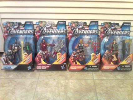 *BNIB* Marvel Comics *AVENGERS HEROES* -GIN- Gets All 4!!!!